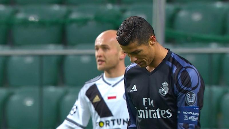 Cristiano Ronaldo Vs Legia Warsaw Away Full HD 1080i Season 2016/17