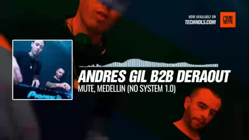 Listen Techno music with @andresgildj B2B @deraout - MUTE, Medellin (No System 1.0) Periscope