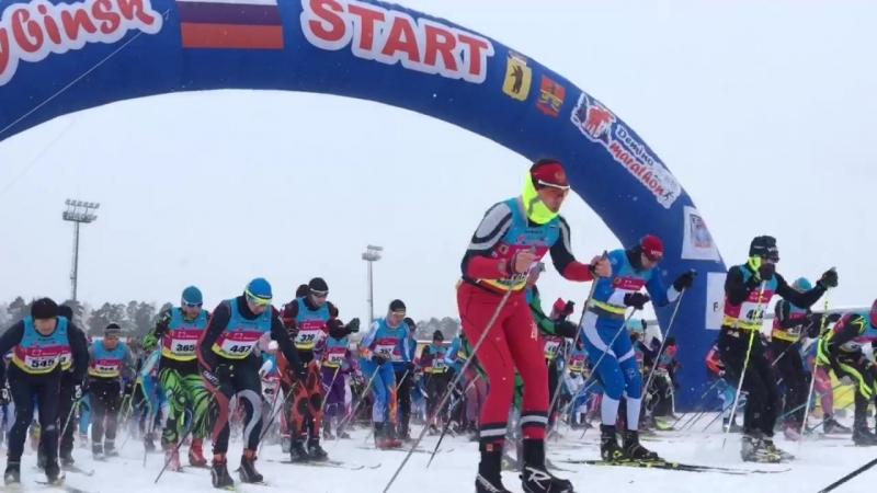 Старт Деминского марафона