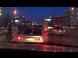 Затор на улице Сибиряков-Гвардейцев 05.03.2018