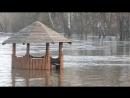Полтава дамба Нижні Млини - вода піднялася на 3м