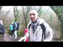 Руслан Стойчев на пути на гору Мангуп Кале