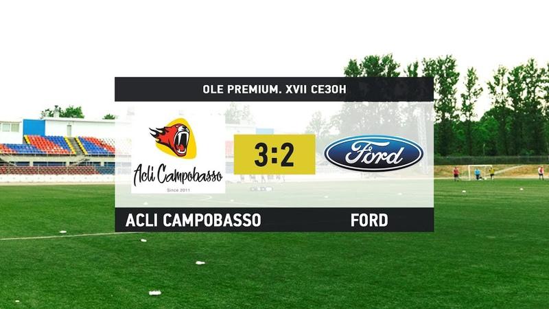 «Acli Campobasso» - «Ford». Дивизион Platinum.