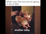 Они узнали, что станут отцами!