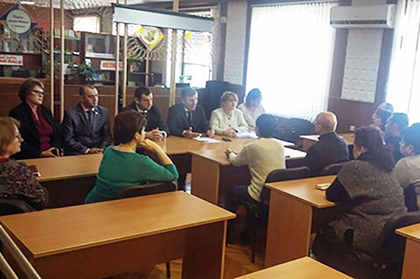 Областные чиновники заинтересовались перспективам развития Таганрогского металлургического техникума