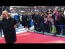 Рукопожатие с Президентом России Владимиром Путиным