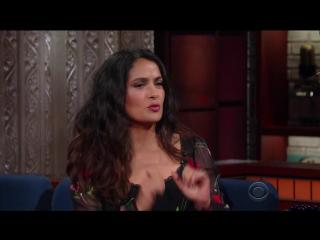 Stephen.Colbert.2017.06.06.Salma.Hayek.WEB.x264-TBS[eztv]