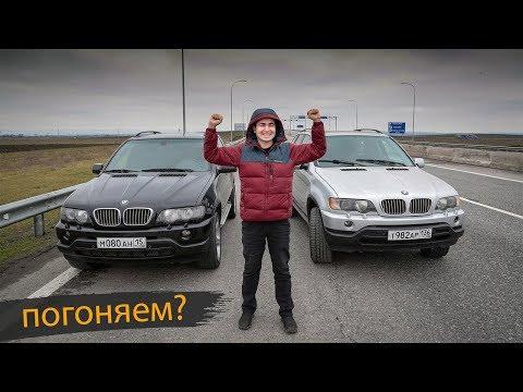BMW X5 с мотором от Приоры! ПЕРВАЯ ГОНКА! И доводка электрики.