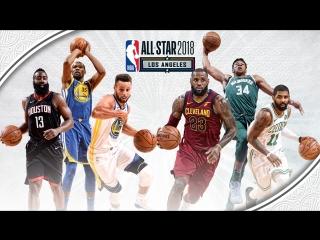Team LeBron vs Team Stephen 2018 NBA All-Star Game