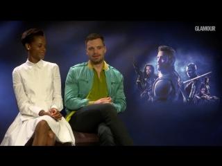 Интервью для Glamour UK в рамках промоушена фильма «Мстители: Война бесконечности» в Лондоне, Великобритания   8.04.18