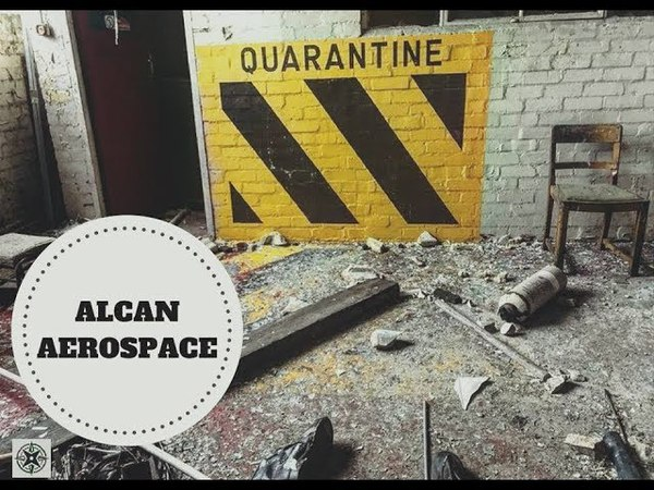 Abandoned ALCAN Pechiney Aluminium Factory URBEX