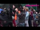 Зак, Хью Джекман, Зендая и Джеймс Корден в Нью-Йорке снимали номер Crosswalk: The Musical для передачи Late Late Show (8.12.