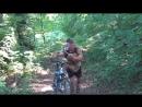 Велопутешествие Серпухов-Тарасково-Прилуки-Серпухов 2012 год. 100 км. Подъём в гору Жёрновка
