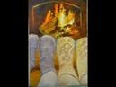 Пишем огонь в камине маслом с Татьяной Букреевой