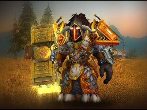 Тридцать второй стрим World of Warcraft , прокачка с 94 по 95 лвл паладин орда
