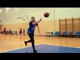 Баскетбольные занятия футболиста ЦСКА