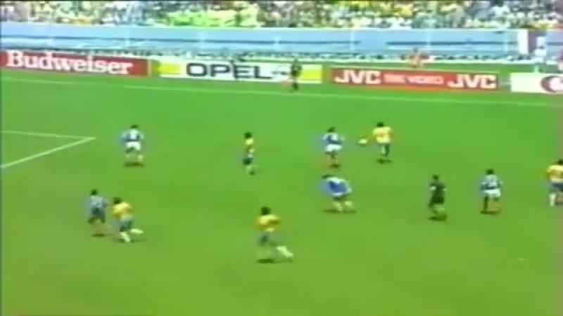 Socrates lixo perde gol no ultimo minuto da prorrogação Brazil x France World Cup 1986