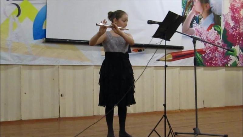 Малая академия искусств 18 апреля 2018 г Мущинина Диана флейта