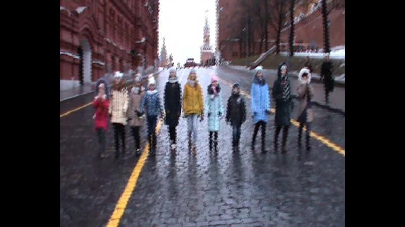 Торжественный марш ансамбля Надея по Красной площади