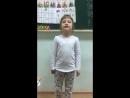 Нуриева Алия рассказывает стихотворение Б Заходера Ткачиха