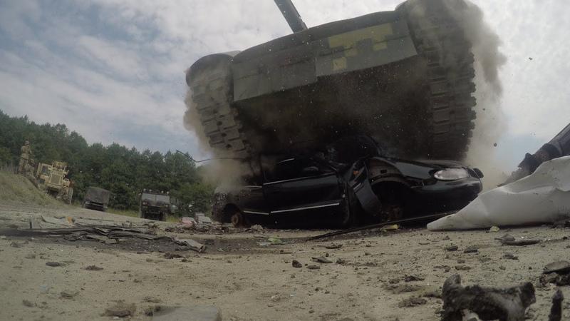 Tank Challenge 2018 водіння та медична евакуація