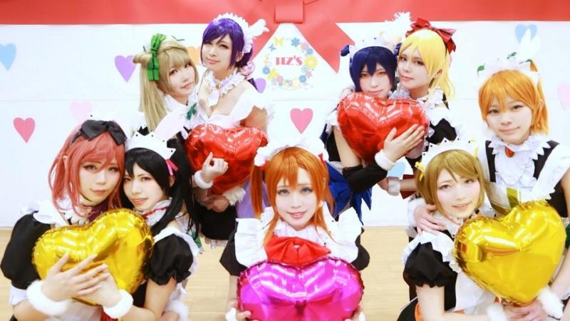 """【μzs】もぎゅっと""""love""""で接近中! 踊ってみた【ラブライブ!】 sm32882626"""