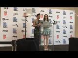 Лили и Тесса Томпсон объявляют номинантов на премию «Независимый дух» (21/11/17)