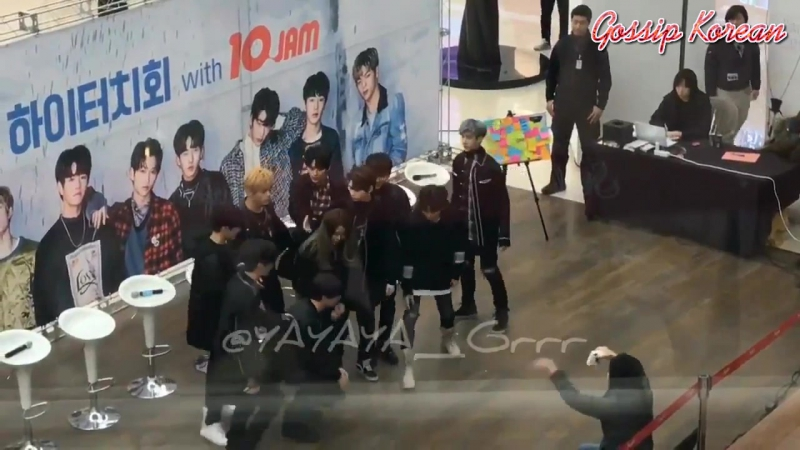 180122 Stray Kids (트레이 키즈) at Hi-Touch with 10Jam – 하이터치 with 10Jam