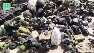 Сирия обнаружила громадный арсенал боевиков в Думе - видео ФАН