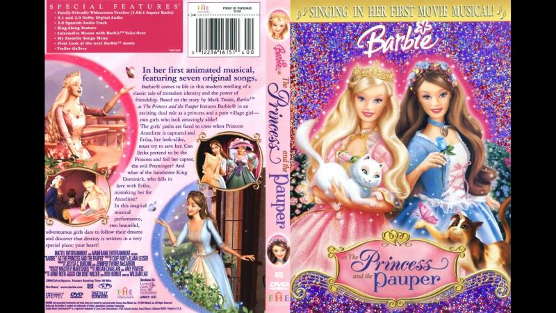Барби: Принцесса и Нищенка Barbie as the Princess and the Pauper, мультфильм, 2004