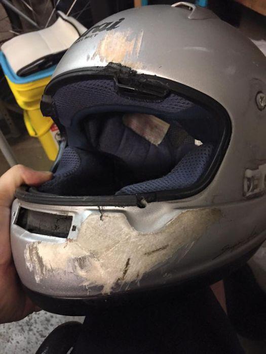 О пользе шлема