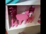Кукольный домик - очень милый и полезный подарочек!