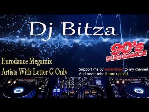 Eurodance dance 90 Letter G only Megamix