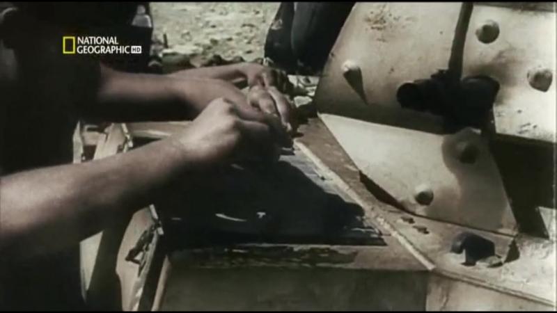 Немцы обедают в пустыне