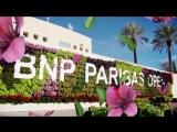 Ready to bloom 💐 #TennisParadise #BNPPO18