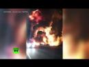 Пожар и взрывы на оживлённой трассе в Канаде: в результате массового ДТП погибли 3 человека
