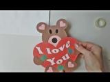 Valentines Day Sweet Gift Idea Craft Tutorial - Идея Вкусного Подарка на День Валентина