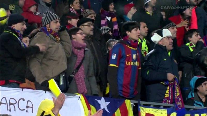 Barcelona 5 x 0 Real Madrid [ patada de sergio ramos a messi ]