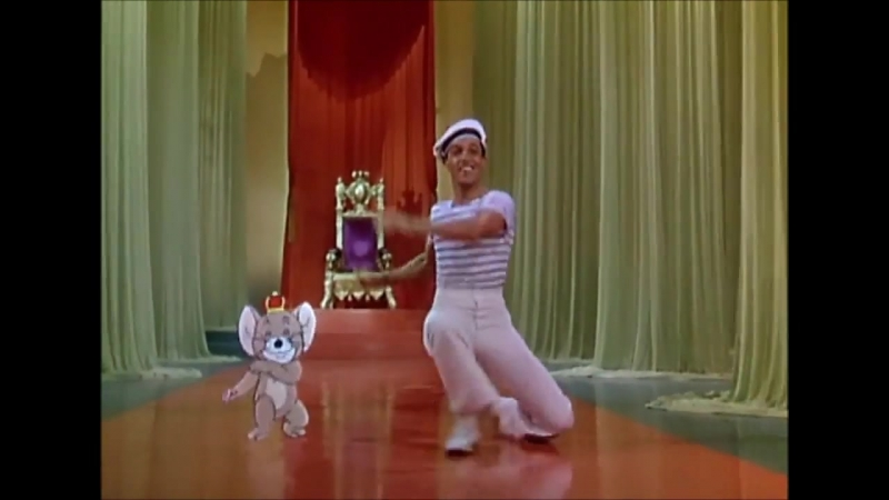 Jerry Mouse and Gene Kelly Dance - Anchors Aweigh