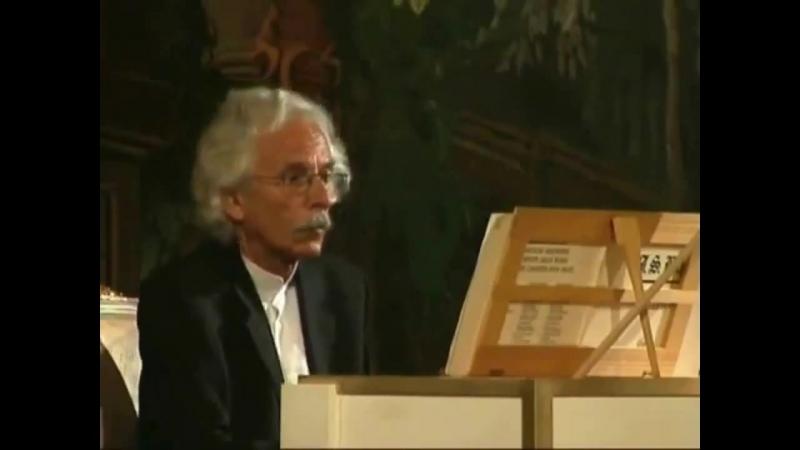 1080 (8) J. S. Bach - Die kunst der fuge, BWV 1080 8. Canon alla ottava. Confutatis Maledictis - Peter Ella, harpsichord