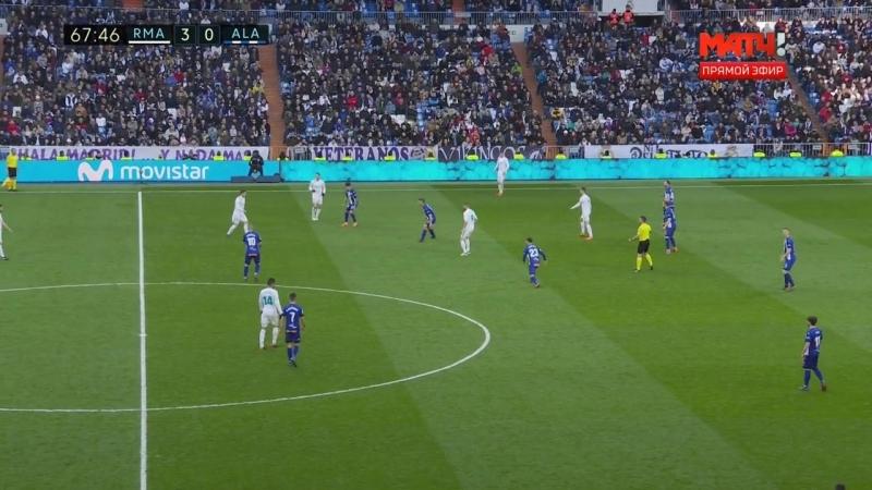 Чемпионат Испании 2017-18 25-й тур Реал Мадрид – Алавес 2 тайм [720, HD]
