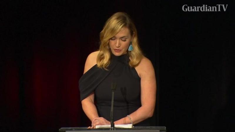 Кейт Уинслет на премии Гильдии Киноактеров США-2017