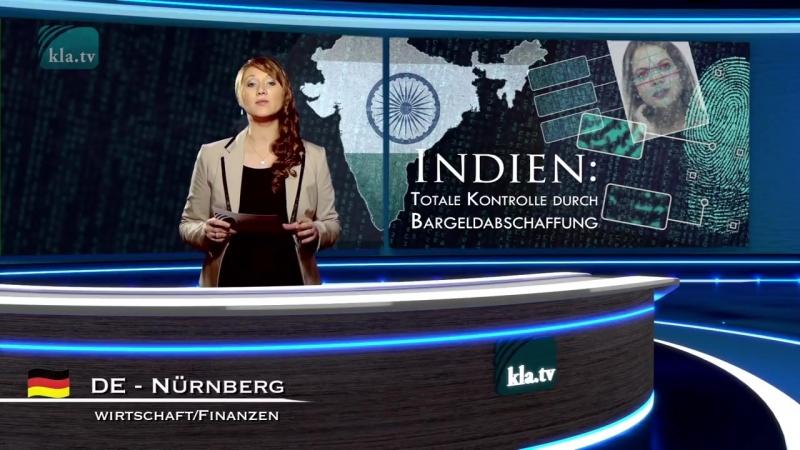Indien -Totale Kontrolle durch Bargeldabschaffung - 22. März 2018