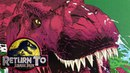 How The Tyrannosaurus River Raft Chase Happened - Return To Jurassic Park Comics - Part 3