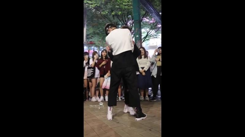 160903 디오비 DOB 홍대공연 《TROUBLE MAKER》 Park Jin 박진