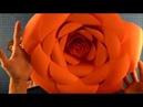 DIY. Flor gigante de papel para festa moana com molde.Big paper flowers. Como hacer flor grande.