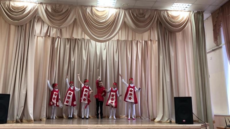 ЛДО Школа № 118 3 отряд Отчетный концерт 27 06 18 Русский народный танец Калинка малинка