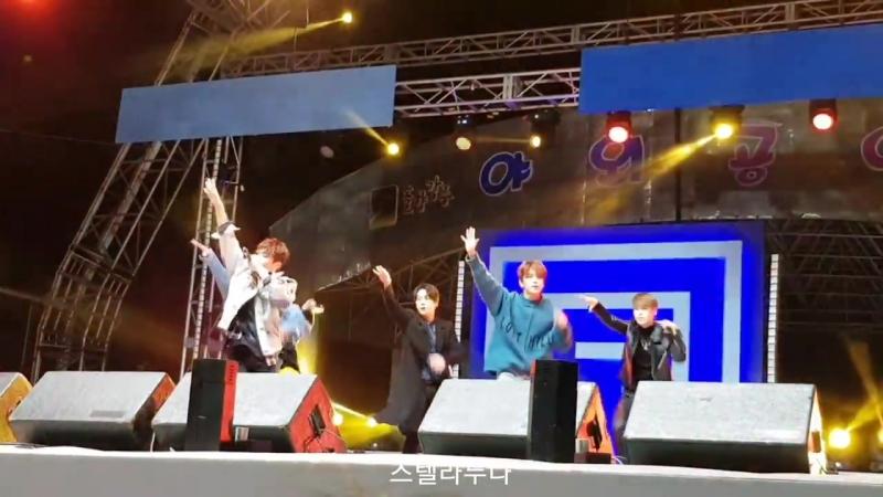 [FANCAM] [17.02.18] Live Site Kpop concert: B.A.P — Hands Up