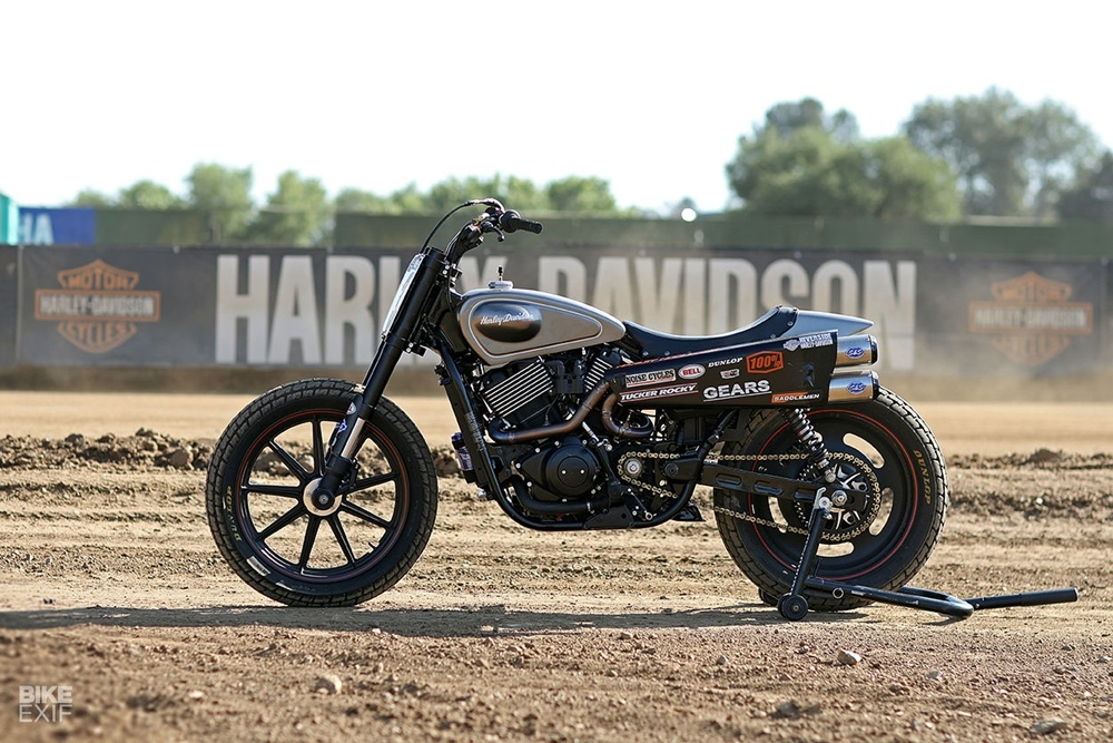 Noise Cycles: флэт-трекер Harley-Davidson Street Rod