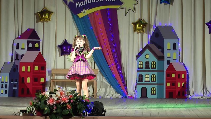 Карина Киндякова (8 лет) - Трусиха (образцовая студия эстрадного пения Браво!)